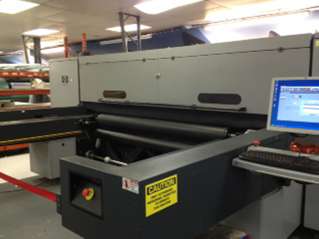 Used HP Scitex FB6100 HI Q Digital Flatbed Printer For Sale
