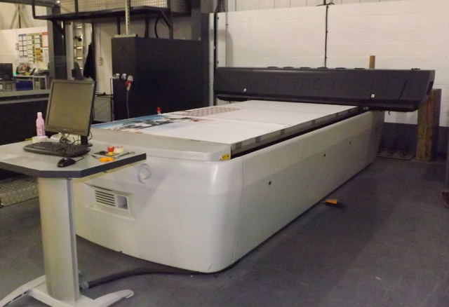 Used Inca Spyder 320 Large Format Flatbed Inkjet Digital Printer For